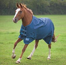 """7ft 3 Shires tempest Lite Turnout Rug 7'3"""" brand new free roll of gauzee"""
