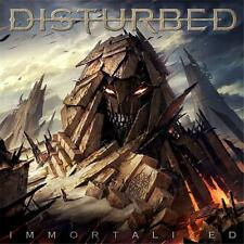 DISTURBED IMMORTALIZED DELUXE VERSION 3 EXTRA TRACKS DIGIPAK CD NEW