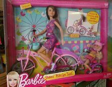 Barbies Sisters Bike for Two Skipper & Chelsea NIB age 3up