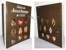 DDR Buch Medaillen Orden Ausz. UdSSR CCCP Rote Armee Book over Medals USSR