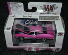 2015 M2 MACHINES CASTLINE DETROIT MUSCLE 1970 FORD TORINO GT 429 PINK SCJ  R31