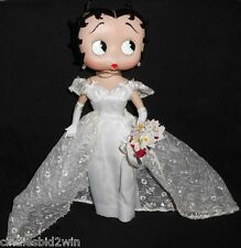 Collectible Betty Boop  Porcelain Bridal Doll -Danbury Mint