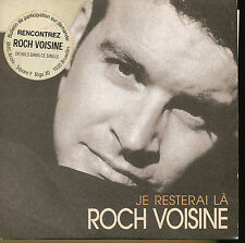 *ROCH VOISINE CD SINGLE FRANCE JE RESTERAI LA (4)