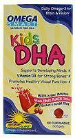 Kids DHA Omega Smart By Renew Life - 60 Chewables, EXP 4/18