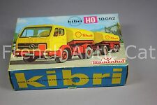U653 KIBRI maquette diorama Ho B-10062 10062 Wackenhut camion citerne boite vide
