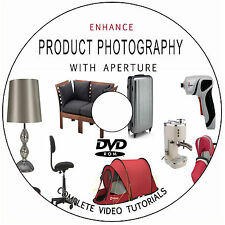 LEARN HOW TO ENHANCE PRODUCT PHOTOGRAPHY APERTURE DIGITAL TRAINING TUTORIALS DVD