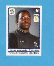 PANINI-EURO 2012-Figurina n.462- MANDANDA - FRANCIA -NEW WHITE BOARD