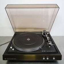 vintage hifi Plattenspieler direct drive automatic turntable Ortofon Dual CS 626