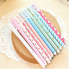 10X Colorful Gel pen Kawaii Stationery korean Flower Style For Office Study