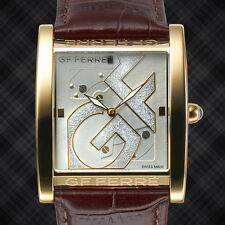 GF Ferre Swiss Made Big Logo Mens Watch/ Retails At $899.99