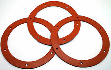 "Pellet Stove Gasket Exhaust Combustion Seal. Stoves W/ 6"" Motor Mount 3 PK! SIL"