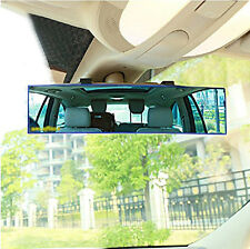 3M Wide Curve Convex Interior Reflector Clip Panoramic Rear View Mirror Fit Car