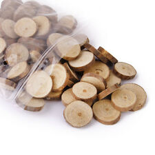 100pcs  Wood Log Slices Discs for DIY Crafts Wedding Centerpieces 1.5-3CM