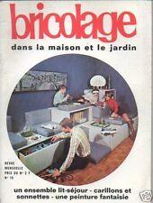 BRICOLAGE  n°19 ensemble lit-séjour carillons sonnettes