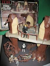 Star Wars Vintage Ewok Village Playset Box Action Figures 1982 Kenner Collection