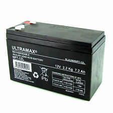 Burglar Alarm Battery 12v 7Ah ULTRA MAX NP7-12L NEW