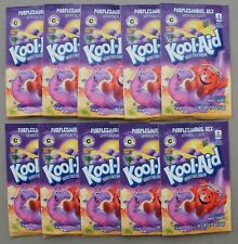 10 packets of KOOL-AID drink mix: PURPLESAURUS REX flavor, new LIMITED EDITION!