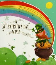 A St Patrick's Day Wish Greeting Card Quality Greetings Cards