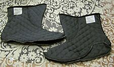 NEW QUILTED BOOT LINER (BOOTIE), SIZE 10.0-10.5 W/XW