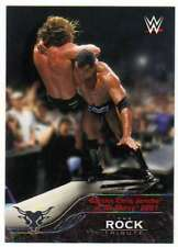 2016 Topps WWE The Rock Tribute #20 Battles Chris Jericho at No Mercy 2001