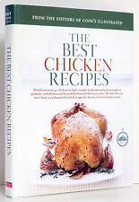 COOK'S ILLUSTRATED BEST CHICKEN Recipes Poultry America's Test Kitchen Cookbook