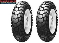 COPPIA PNEUMATICI GOMME PIRELLI SL 60 130/90 10 120/90 10 PER MBK BOOSTER NG 50