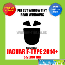 JAGUAR F-TYPE COUPE 2014+ 5% LIMO REAR PRE CUT WINDOW TINT