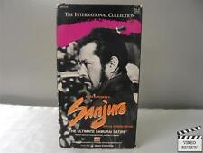 Sanjuro VHS Toshiro Mifune; Akira Kurosawa ENG SUB