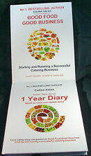 Food Safety Management Pack 2 book set,1 Year Diary,Week to view Paperbacks