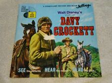 Walt Disney's Story Of Davy Crockett Book And Record 1971 The Wellingtons