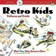 Retro Kids' Patterns and Prints : What Baby Baby Boomers Wore (2011, Paperback)