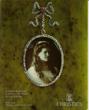 CHRISTIE'S Important Collection of Objects by Carl FABERGE Auction Catalog 1993