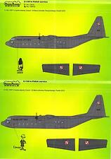 Model Maker Decals 1/72 LOCKHEED C-130 HERCULES IN POLISH SERVICE
