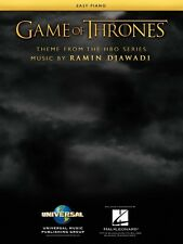 Game of Thrones Theme from the HBO series Sheet Music Easy Piano Book 000199165