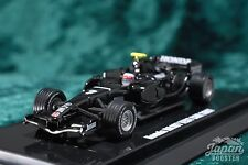 [KYOSHO ORIGINAL 1/64] Honda RA107 Black Test Car #7 Jenson Button K06551C Beads