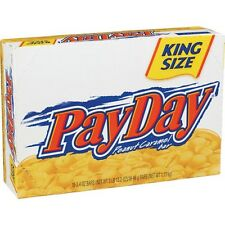 Pay Day King Size 3.4 oz bar 18 ct Candy Bars