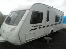 Swift Challenger 570 2010 Single Axle 4 Berth with Fixed Bed and Motor Mover