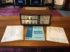 HARMON KARDON CITATION I TUBE PREAMP NEAR MINT CONDITION W/WOOD CASE &/MANUAL