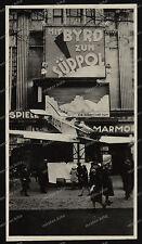 Vintage-Photo-Berlin-Kino-Byrd zum Südpol-Kurfürstendamm-Lufthansa-Flugzeug