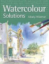 Watercolour Solutions by Albany Wiseman Hardcover Art Homeschool Instruction