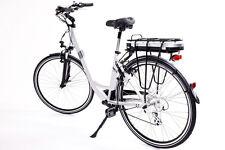 """28"""" Alu Elektro Fahrrad E Bike Pedelec Damen Shimano 7 Gang Elektrofahrrad SILBE"""