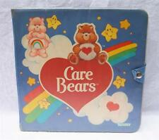 Vintage Kenner 1980's Care Bears Carrying Storage Collector Case Binder Bear Box