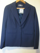 A LOVELY ( NEW ) WOMENS PURPLE  W  B.H.S BLAZER/ JACKET SIZE 14  BUTTON FASTENER