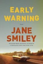 Early Warning: A novel, Smiley, Jane, Good Condition, Book