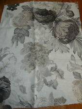 2 TESSA PROUDFOOT for ST LEGER & VINEY Isabella linen curtain fabric remnants