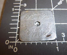 Vintage Colorado rectangle State Sales Tax Token Coin one fifth cent