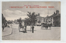 Boneville Is Manufactured Here Main Street Frodsham Pre 1914 Booth No 104 Old PC