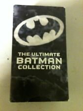 VHS THE ULTIMATE BATMAN COLLECTION  SET OF 3