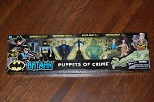 Batman Puppets of Crime: Ventriloquist, Killer Croc, Nightwing-BAS-MIB-4 Pack