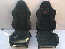 Mitsubishi lancer evo evolution  7 8 9  front half leather mr seats poor